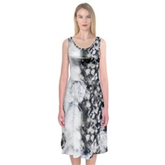 Earth Right Now Midi Sleeveless Dress