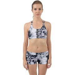 Earth Right Now Back Web Sports Bra Set