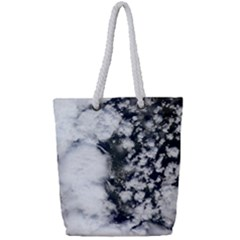 Earth Right Now Full Print Rope Handle Bag (small)
