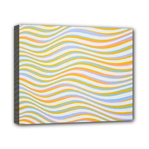 Art Abstract Colorful Colors Canvas 10  X 8