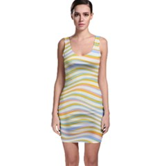 Art Abstract Colorful Colors Bodycon Dress