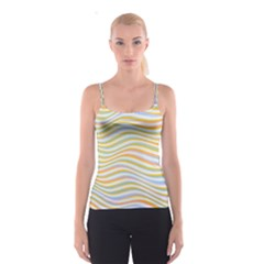 Art Abstract Colorful Colors Spaghetti Strap Top