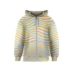 Art Abstract Colorful Colors Kids  Zipper Hoodie
