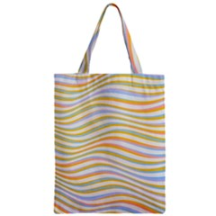 Art Abstract Colorful Colors Zipper Classic Tote Bag