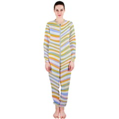 Art Abstract Colorful Colors Onepiece Jumpsuit (ladies)