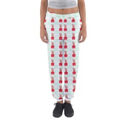At On Christmas Present Background Women s Jogger Sweatpants