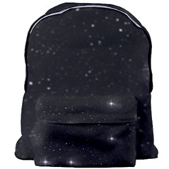 Starry Galaxy Night Black And White Stars Giant Full Print Backpack