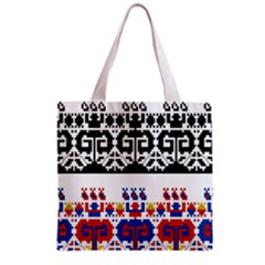 Bulgarian Folk Art Folk Art Grocery Tote Bag