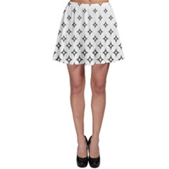 Star Pattern Decoration Geometric Skater Skirt