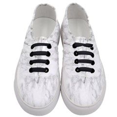 White Background Pattern Tile Women s Classic Low Top Sneakers