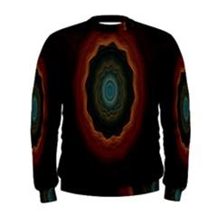 Cosmic Eye Kaleidoscope Art Pattern Men s Sweatshirt