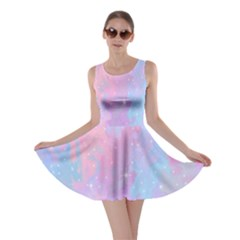 Space Psychedelic Colorful Color Skater Dress