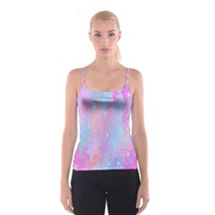 Space Psychedelic Colorful Color Spaghetti Strap Top
