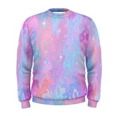 Space Psychedelic Colorful Color Men s Sweatshirt