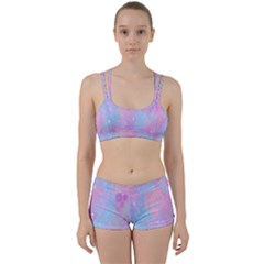 Space Psychedelic Colorful Color Women s Sports Set