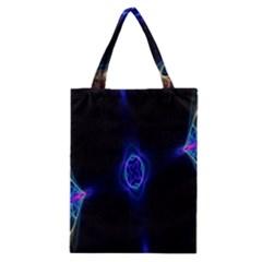 Lightning Kaleidoscope Art Pattern Classic Tote Bag