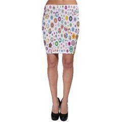 Design Aspect Ratio Abstract Bodycon Skirt