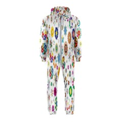 Design Aspect Ratio Abstract Hooded Jumpsuit (kids)
