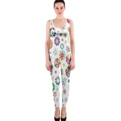 Design Aspect Ratio Abstract Onepiece Catsuit