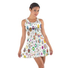 Design Aspect Ratio Abstract Cotton Racerback Dress