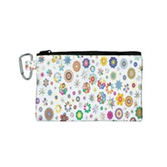 Design Aspect Ratio Abstract Canvas Cosmetic Bag (small)