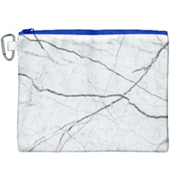 White Background Pattern Tile Canvas Cosmetic Bag (xxxl)