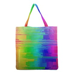 Colors Rainbow Chakras Style Grocery Tote Bag