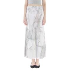 Background Modern Smoke Design Full Length Maxi Skirt
