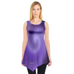 Spiral Lighting Color Nuances Sleeveless Tunic