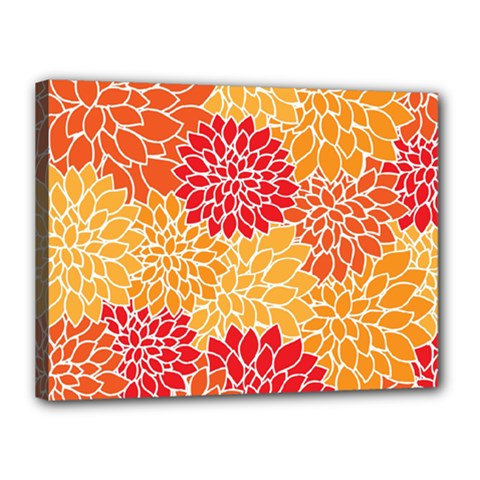 Abstract Art Background Colorful Canvas 16  X 12