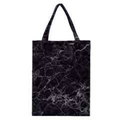 Black Texture Background Stone Classic Tote Bag
