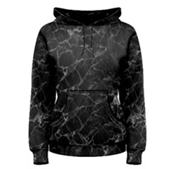 Black Texture Background Stone Women s Pullover Hoodie