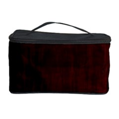 Grunge Brown Abstract Texture Cosmetic Storage Case