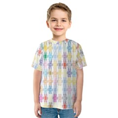 Background Wallpaper Spirals Twirls Kids  Sport Mesh Tee