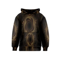 Beads Fractal Abstract Pattern Kids  Pullover Hoodie