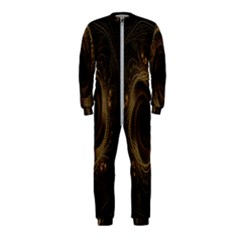 Beads Fractal Abstract Pattern Onepiece Jumpsuit (kids)