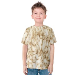 Abstract Art Backdrop Background Kids  Cotton Tee