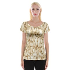 Abstract Art Backdrop Background Cap Sleeve Tops