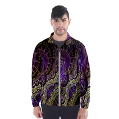 Abstract Fractal Art Design Wind Breaker (men)