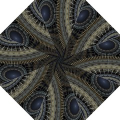 Fractal Spikes Gears Abstract Straight Umbrellas