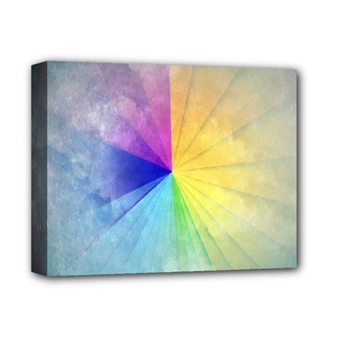 Abstract Art Modern Deluxe Canvas 14  X 11