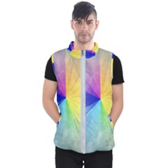 Abstract Art Modern Men s Puffer Vest