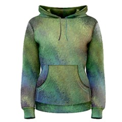 Frosted Glass Background Psychedelic Women s Pullover Hoodie
