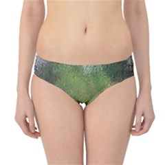 Frosted Glass Background Psychedelic Hipster Bikini Bottoms