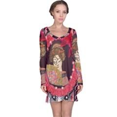 Beauty Long Sleeve Nightdress