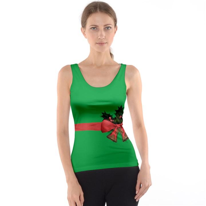 GREEN CHRISTMAS GIFT Tank Top