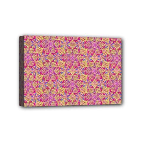 Kaledoscope Pattern  Mini Canvas 6  X 4