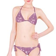 Blurry Stars Lilac Bikini Set