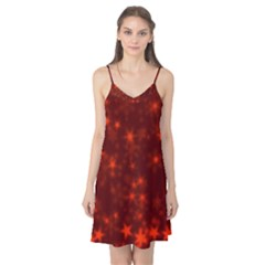Blurry Stars Red Camis Nightgown