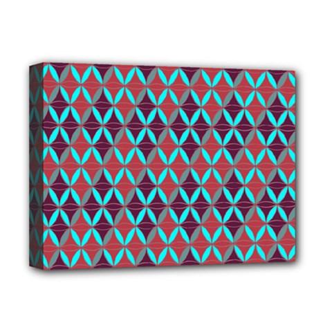 Rhomboids Pattern 2 Deluxe Canvas 16  X 12